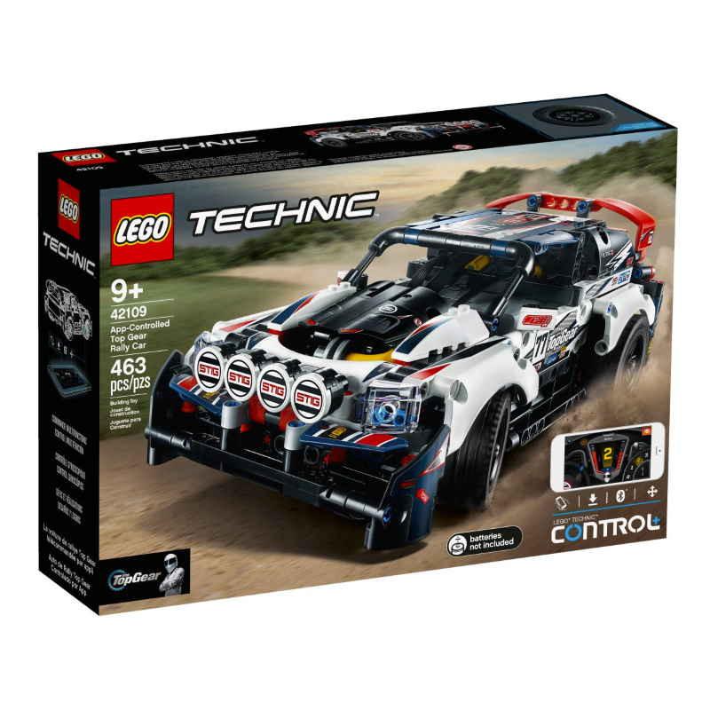 Lego Technic Top Gear Rally Car