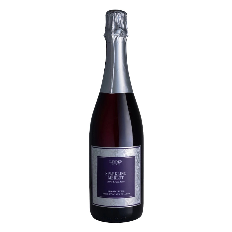 Linden Sparkling Red Grape Juice Merlot