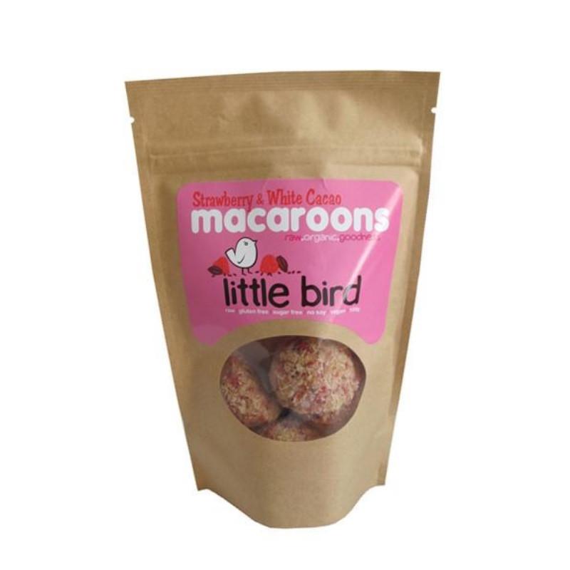 Little Bird Strawberry & Cacao Macaroon