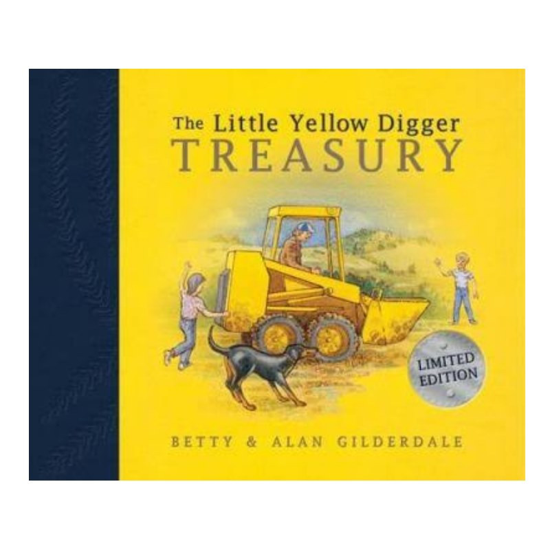 the little yellow digger treasury