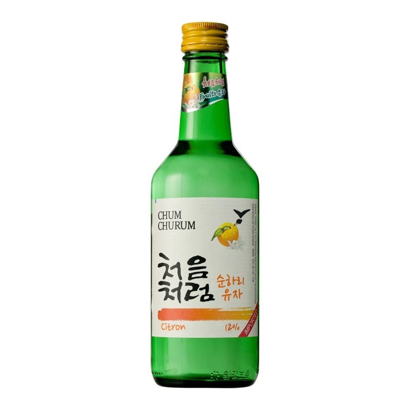 Lotte Citron Chum Churum Soju