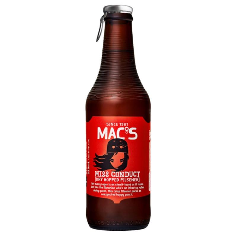 Macs Miss Conduct Dry Hopped Pilsener