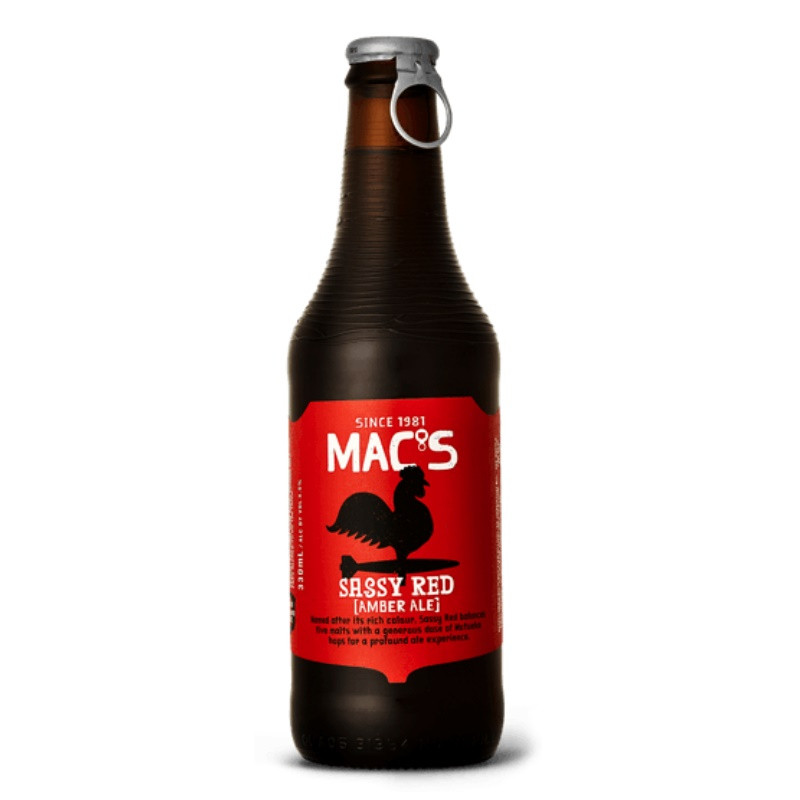 Macs Sassy Red