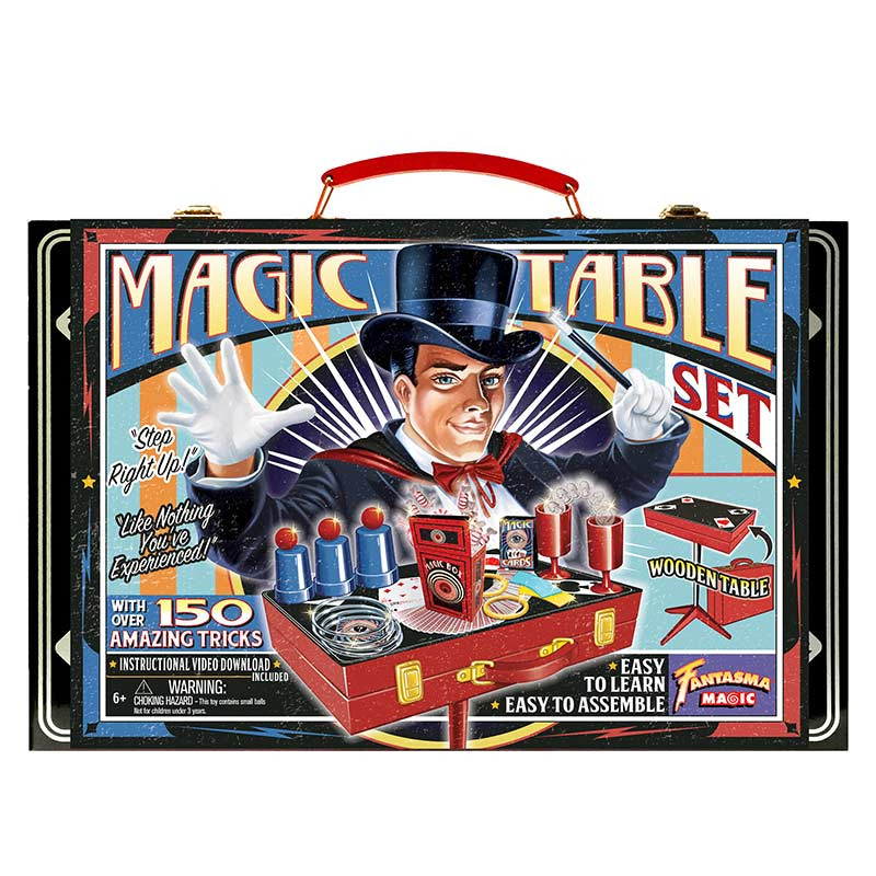 Fantasma Retro Magic Table Set