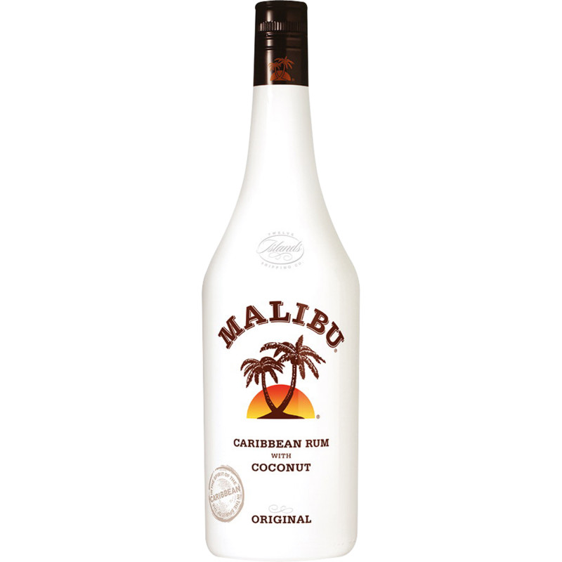Malibu Coconut Liqueur Made With Caribbean White Rum