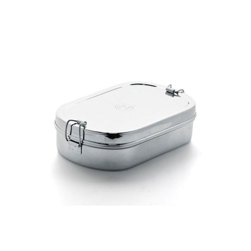 meals in steel oval lunchbox