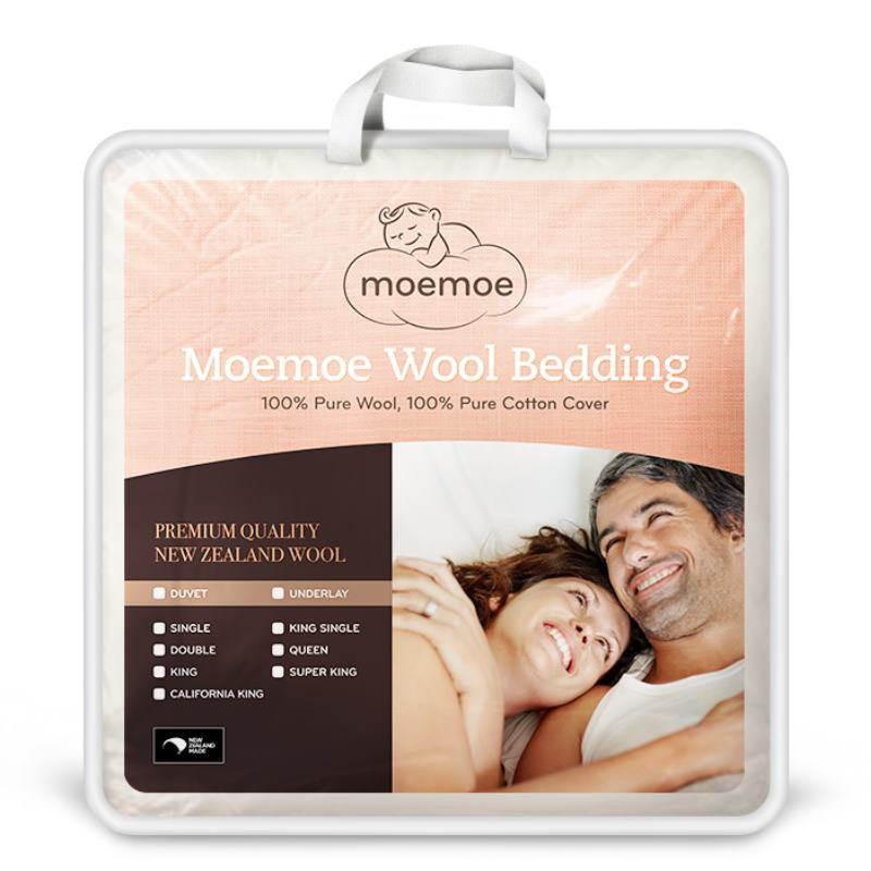 Moemoe Wool Underlay King Single