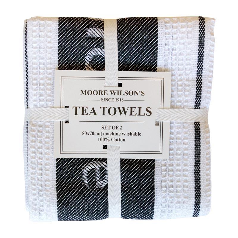 Moore Wilson's Tea Towel 2 Pack