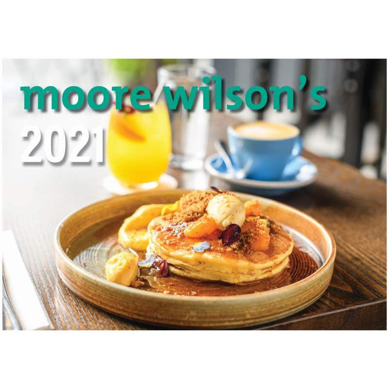 Moore Wilson's 2021 Calendar.