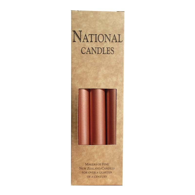 National-Candles-Rose-Gold-6-Pack