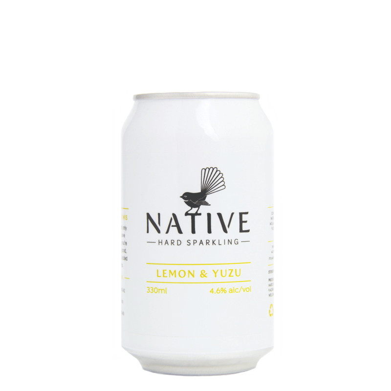 Native Hard Sparkling Lemon & Yuzu
