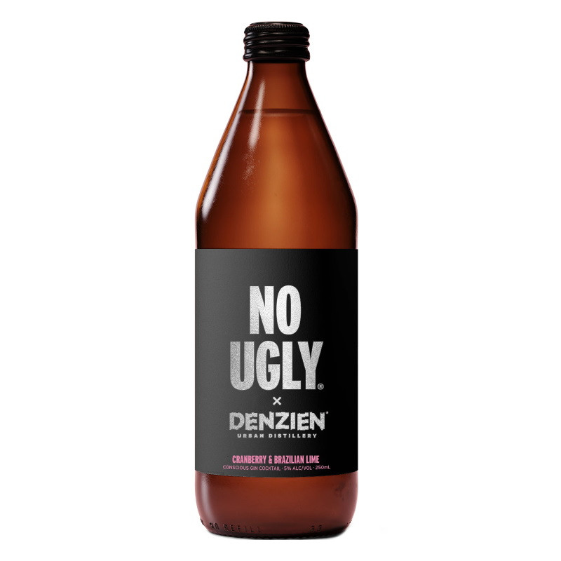 No Ugly x Denzien Cranberry & Brazilian Lime Conscious Gin Cocktail