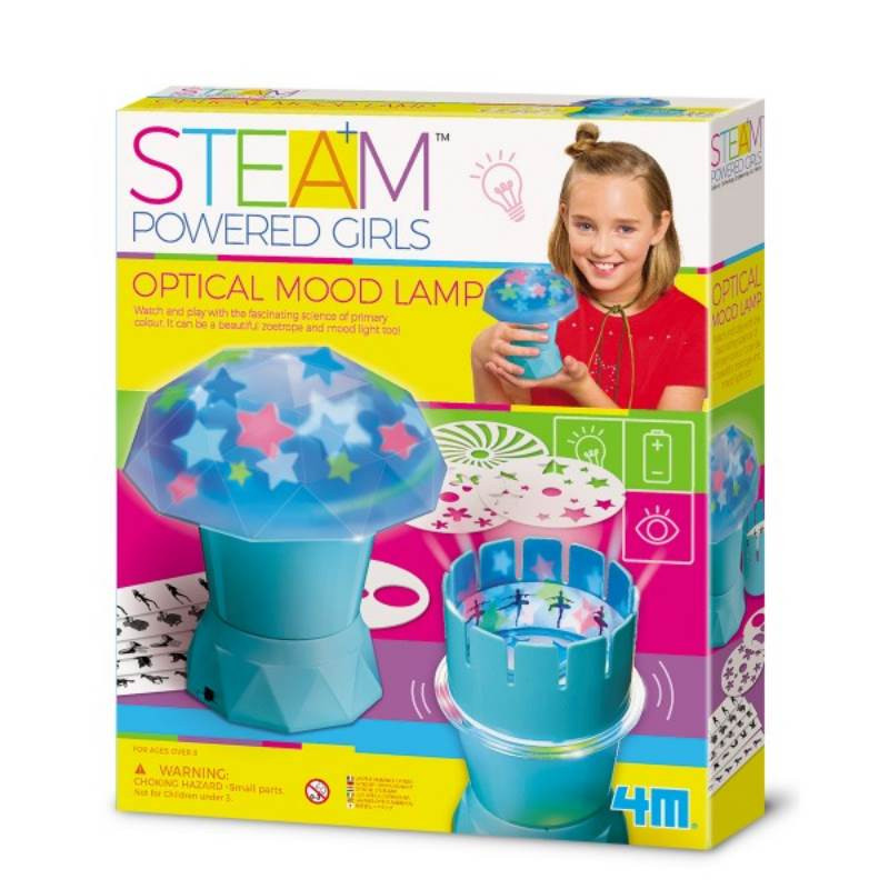 Steam Powered Girls Optical Mood Lamp