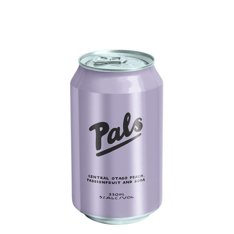 Pals Vodka Central Otago Peach, Passionfriut & Soda