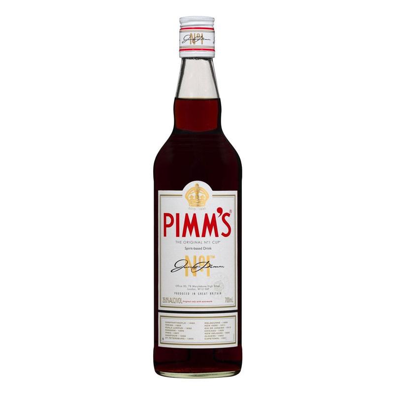 pimm 39 s no 1 liqueurs speciality spirits from england moore wilson 39 s. Black Bedroom Furniture Sets. Home Design Ideas