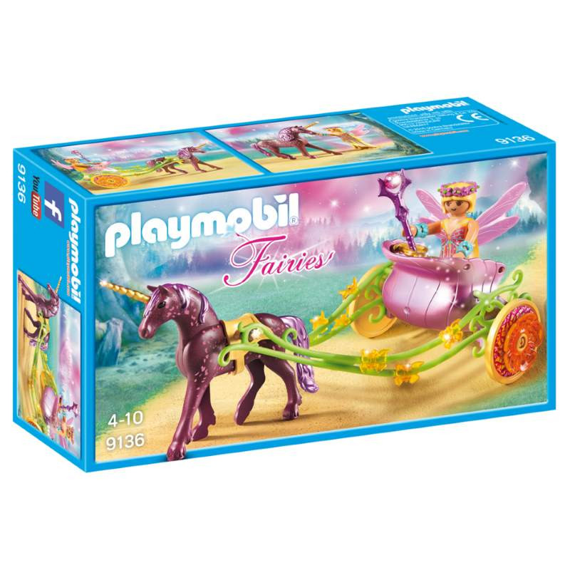 Playmobil Unicorn - Drawn Fairy Carriage