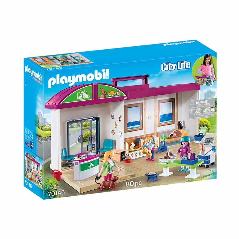 Playmobil Take Along Vet Clinic