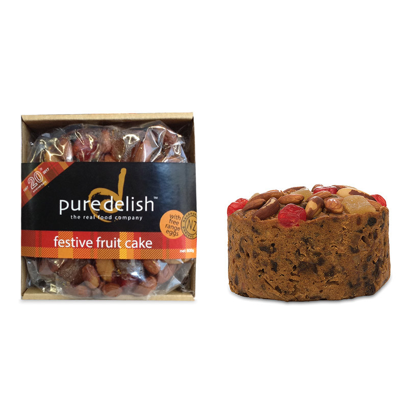 Pure Delish Festive Fruit Cake