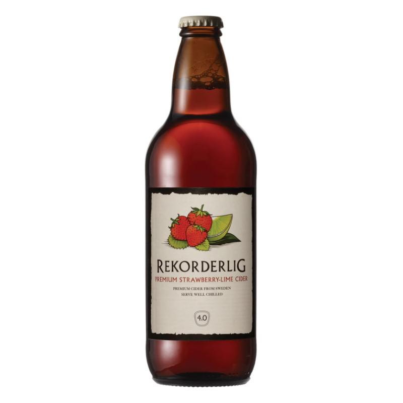 Rekorderlig Strawberry-Lime Cider 500ml