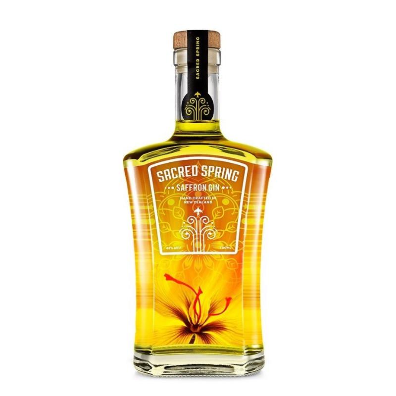 Sacred Spring Saffron Gin