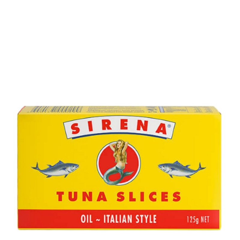 Sirena Tuna In Oil Slices 125g