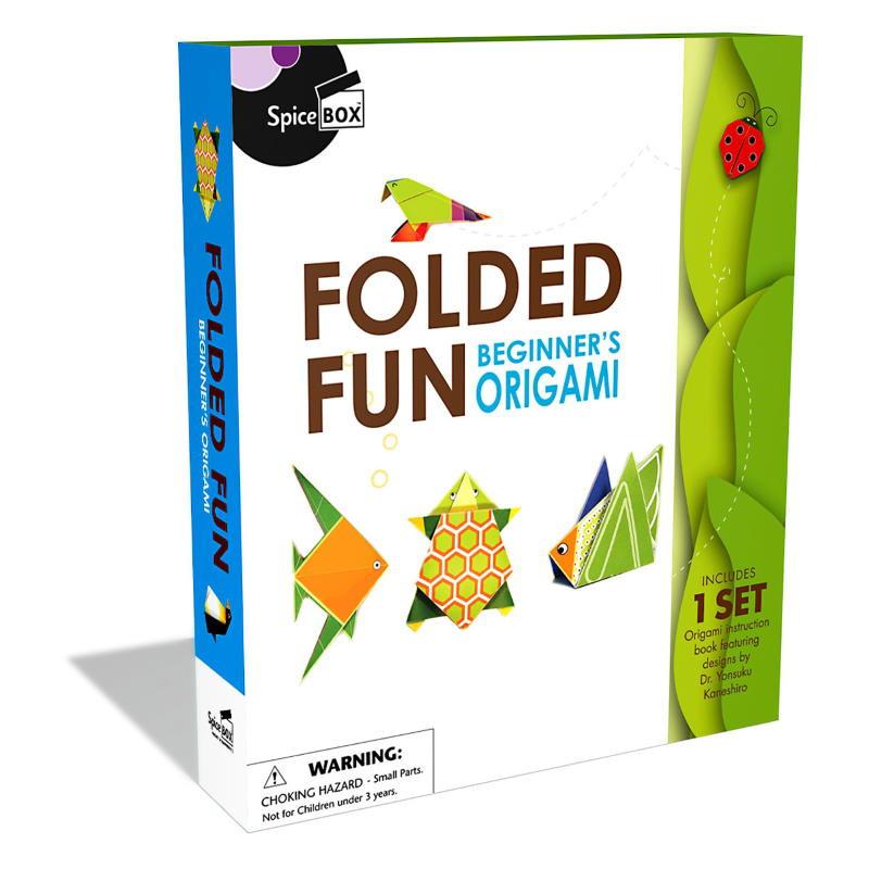 Spicebox Folded Fun Beginner's Origami