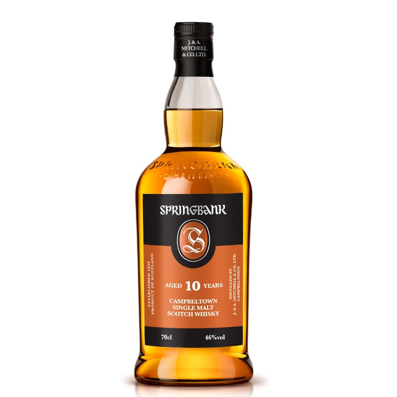 Springbank 10 Year Old Single Malt Whisky
