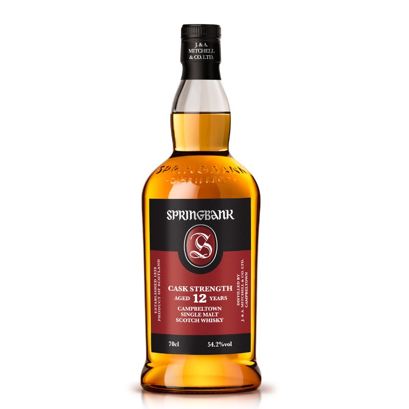Springbank 12 Year Old Cask Strength Single Malt Whisky