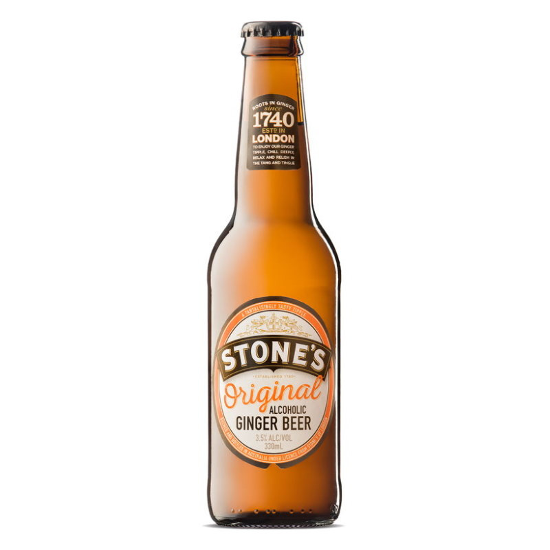 Stones Alcoholic Ginger Beer