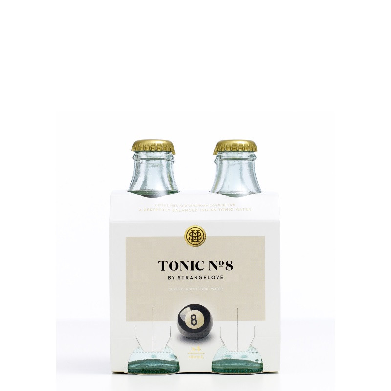 StrangeLove Tonic Water No.8 180ml 4 pack