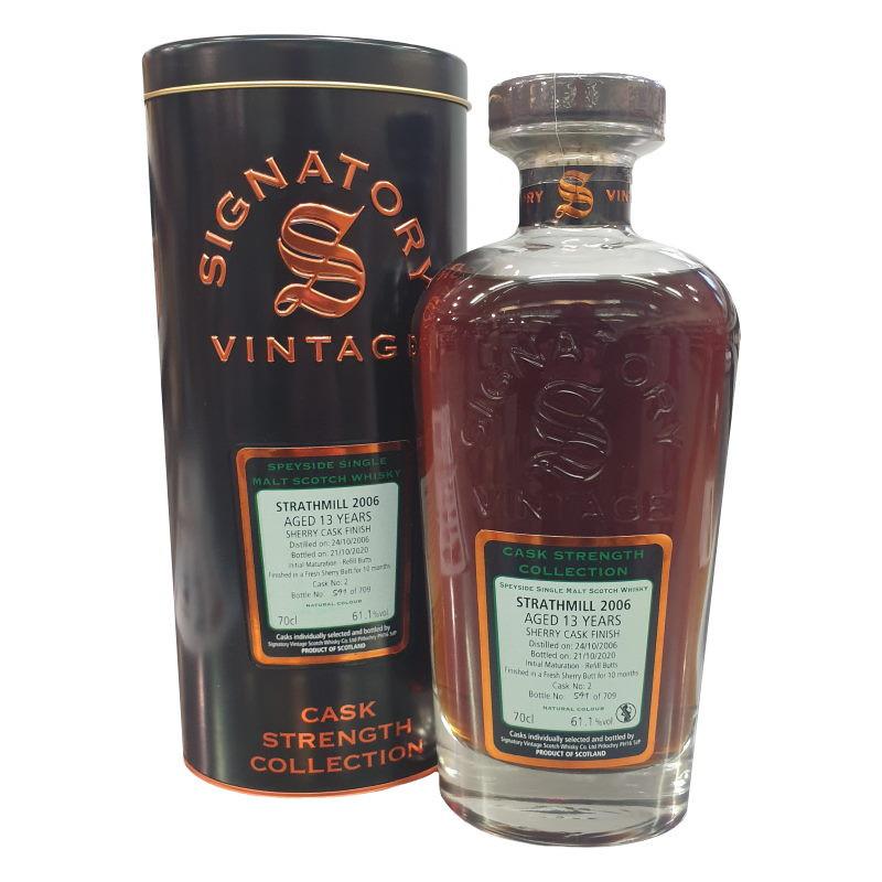 Strathmill 'Signatory' 13 Year Old Single Malt Scotch Whisky