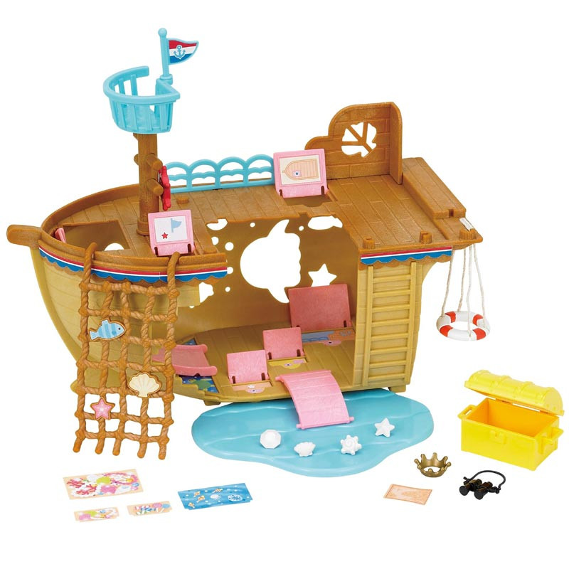 Sylvanian-Families-Adventure-Treasure-Ship