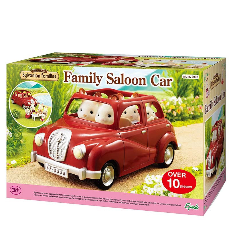 Sylvanian Families Burgundy Family Car