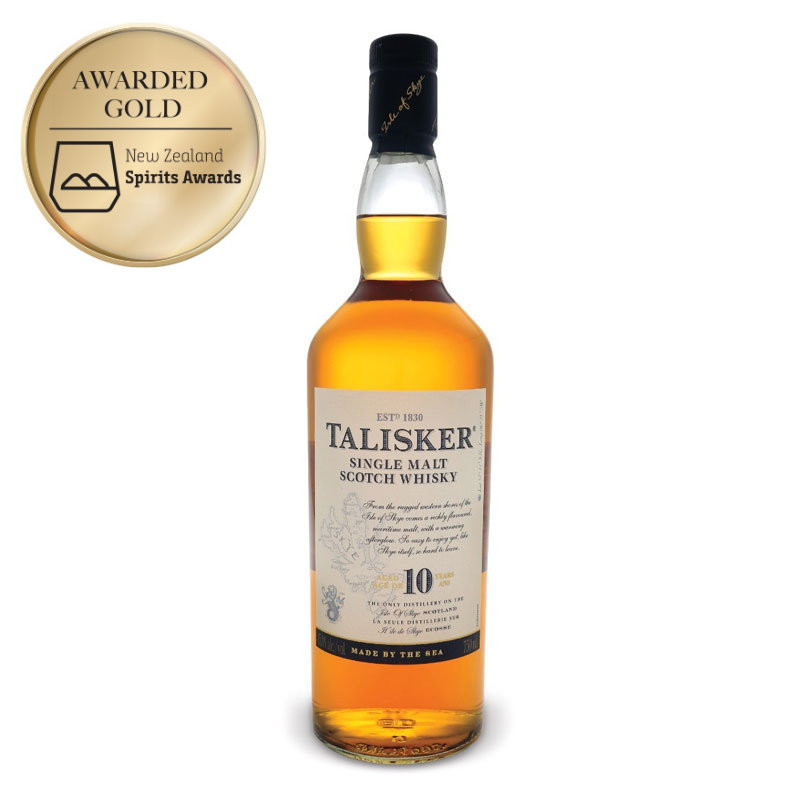 Talisker 10 Year Old Single Malt Scotch Whisky