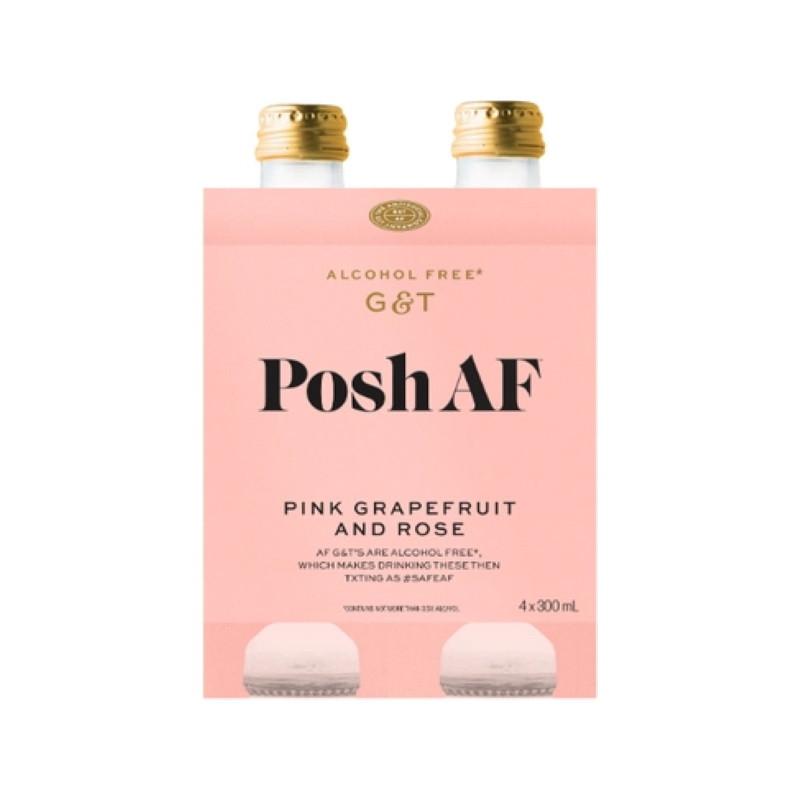 Posh AF Pink Grapefruit & Rose G & T