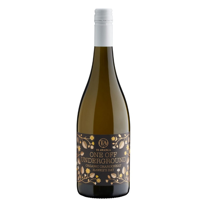 Te Awanga One Off Underground Organic Chardonnay