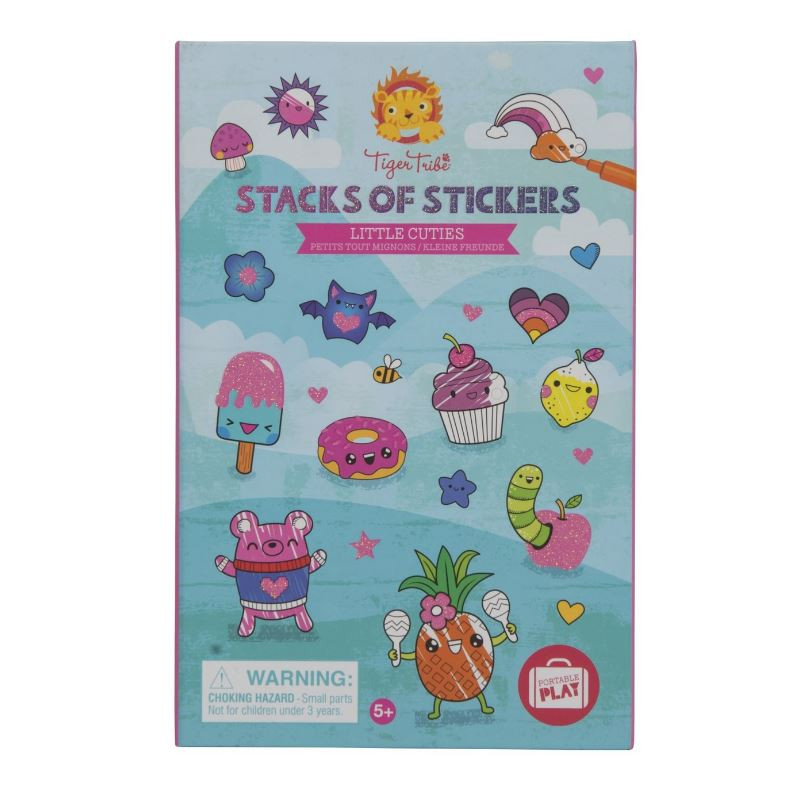 Tiger Tribe Stacks of Stickers Little Cuties