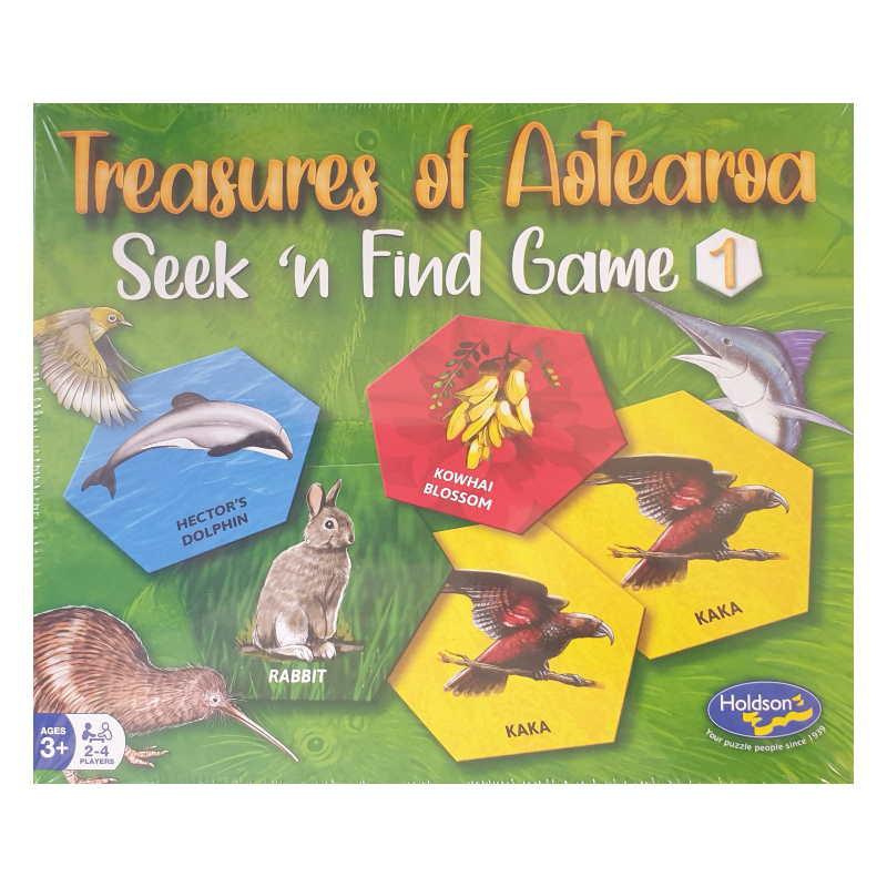 Treasures of Aotearoa Seek 'n Find Game