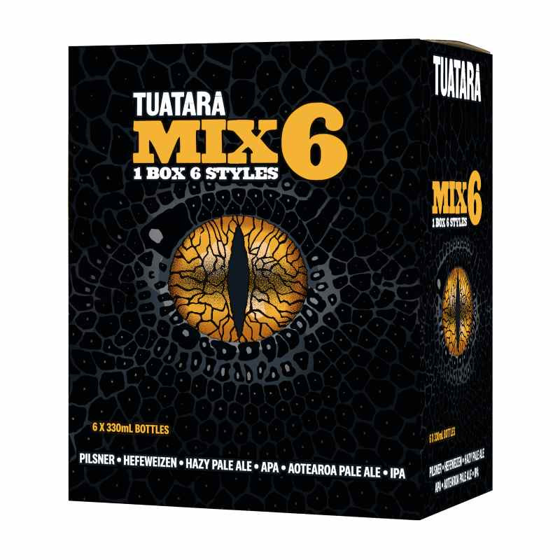 Tuatara Mix 6 Pack