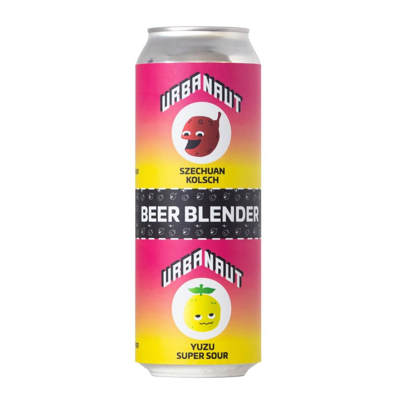 Urbanaut Beer Blender - Szechuan Klosh + Yuzu Super Sour