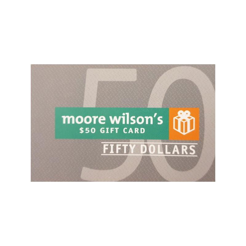 Moore Wilson's $50 Gift Voucher