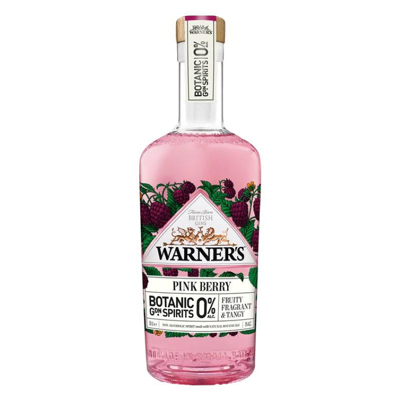 Warner's 0% Pink Berry Botanic Garden Spirits