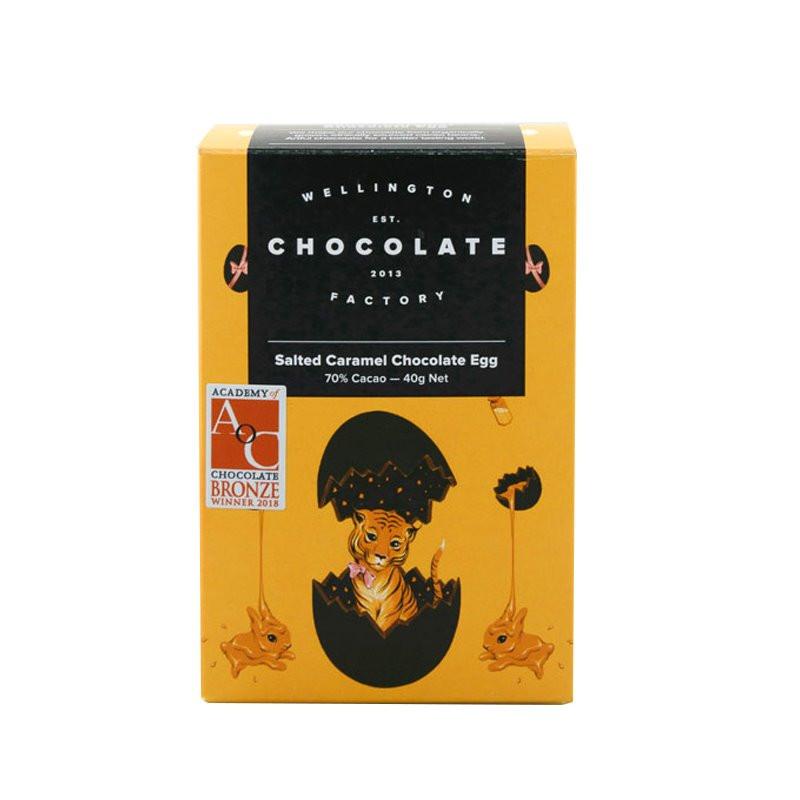 Wellington Chocolate Factory Salted Caramel Egg