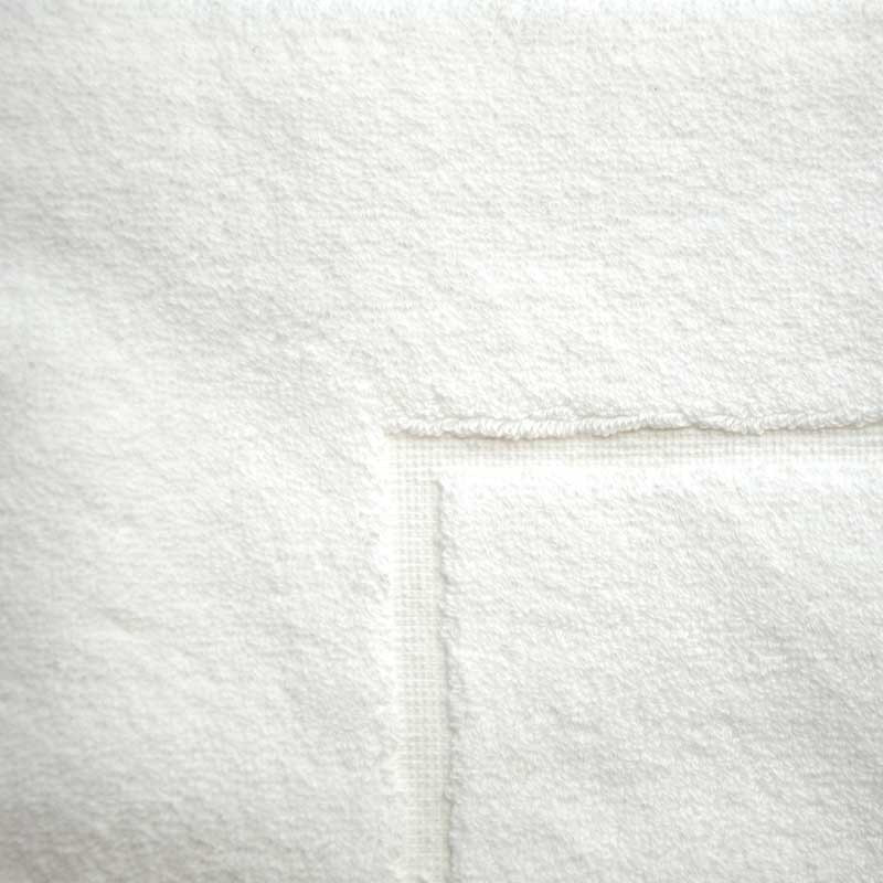 Baksana Towel White Bath Mat