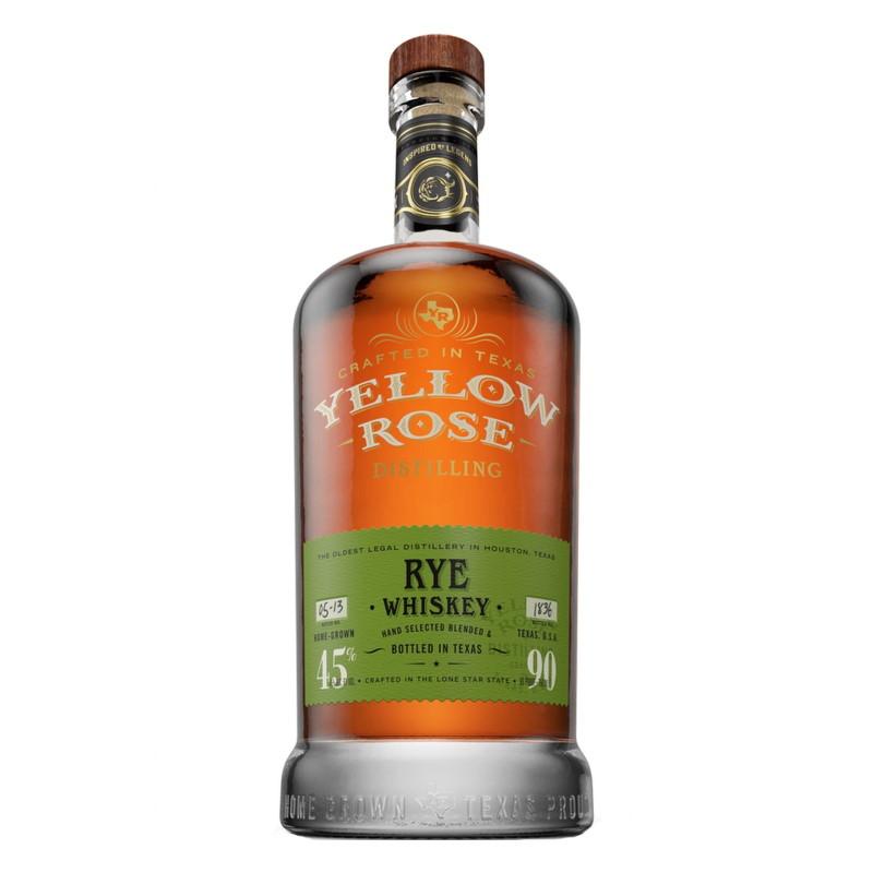 Yellow Rose Texas Rye Whiskey