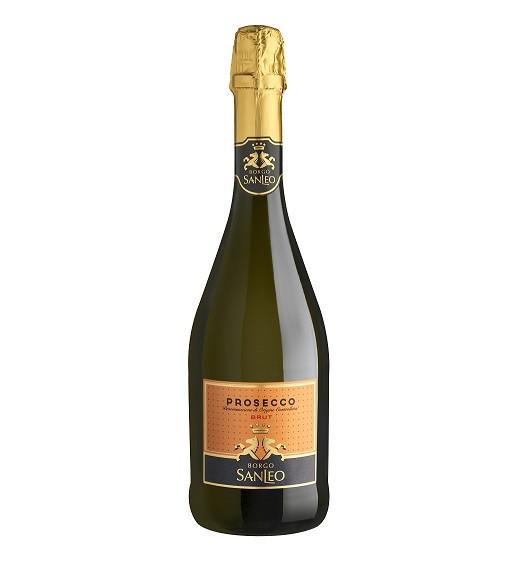 Borgo San Leo Prosecco Brut Sparkling Wine From Italy