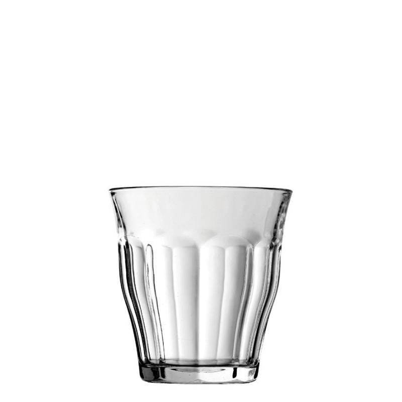 Duralex Picardie Tempered Glass Tumblers 220ml 4 Pack