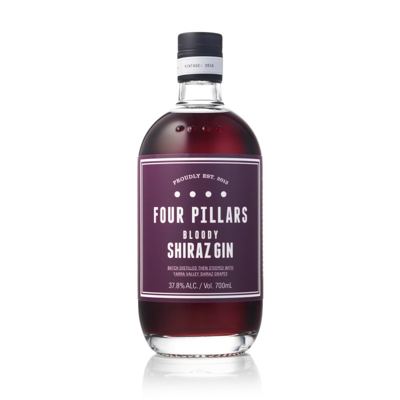 Four Pillars Bloody Shiraz Gin 700ml From Australia