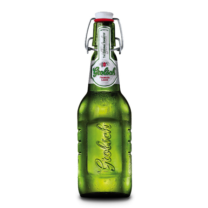 Grolsch Imported Premium Lager 4 Pack 450ml Swing Top