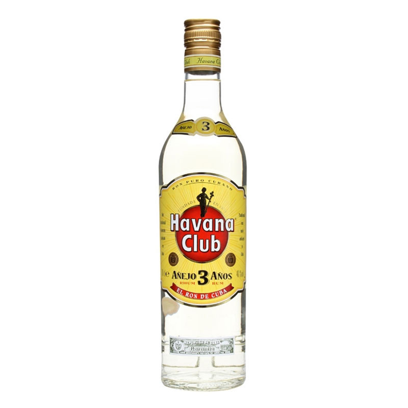 Havana Club 3 Year Old Aged White Rum From Cuba Moore